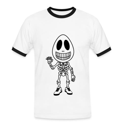 Skeggeton TS Retro Man - Men's Ringer Shirt