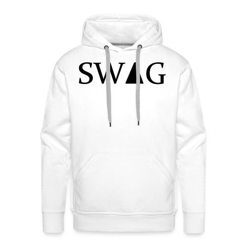 swag wit  - Mannen Premium hoodie
