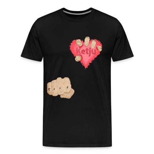 Teräketju Hirviö - Miesten premium t-paita