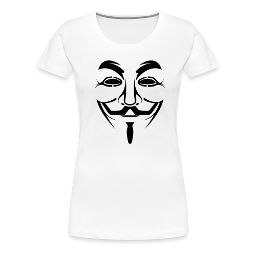 Anonymous girl - T-shirt Premium Femme