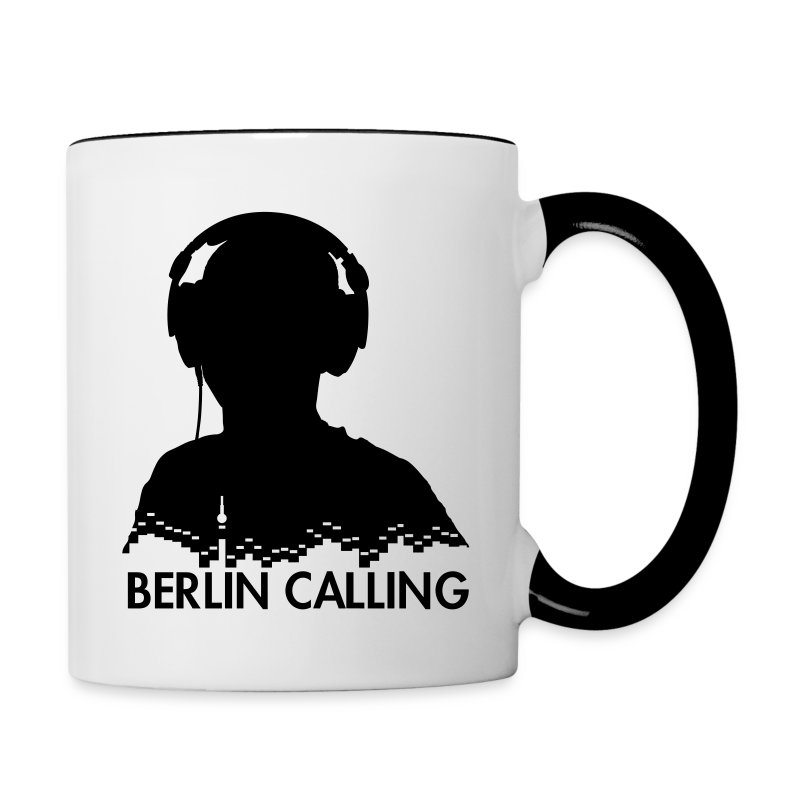 Tasse zweifarbig - Official Product of the Berlin Calling Motive from Paul Kalkbrenner.