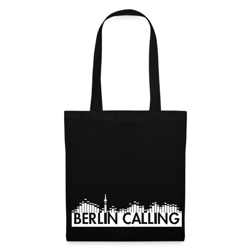 Stoffbeutel - Official Product of the Berlin Calling Motive from Paul Kalkbrenner.