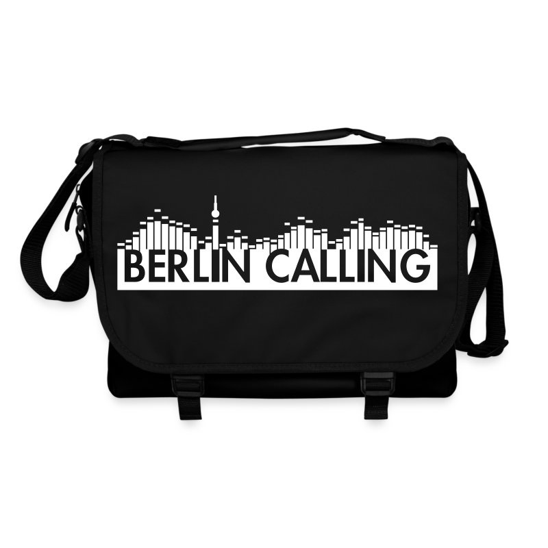Umhängetasche - Official Product of the Berlin Calling Motive from Paul Kalkbrenner.