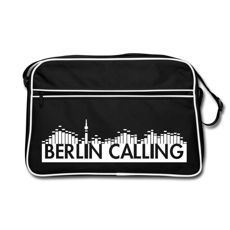 Retro Tasche - Official Product of the Berlin Calling Motive from Paul Kalkbrenner.