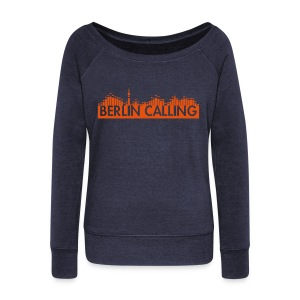 Frauen Pullover mit U-Boot-Ausschnitt von Bella - Official Product of the Berlin Calling Motive from Paul Kalkbrenner.