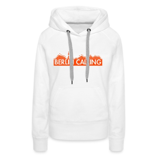 Frauen Premium Hoodie - Official Product of the Berlin Calling Motive from Paul Kalkbrenner.