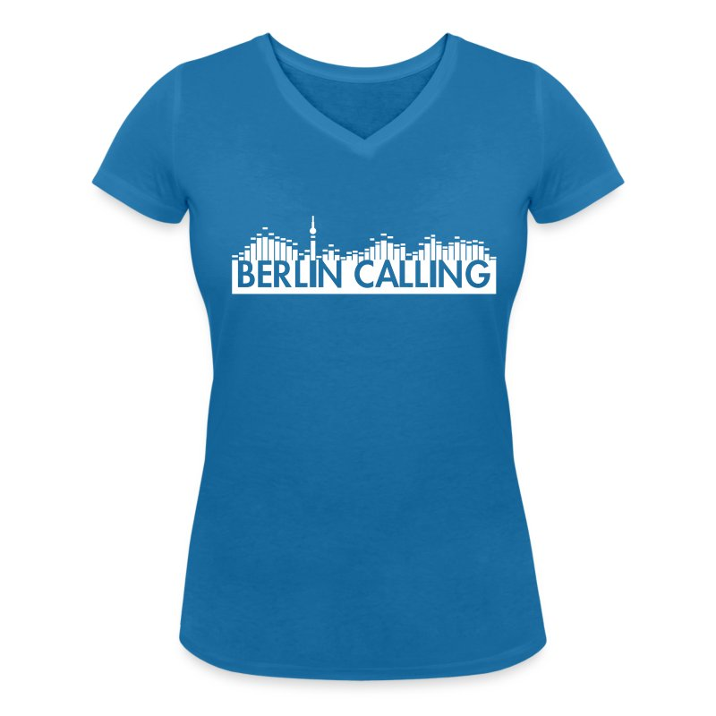 Frauen T-Shirt mit V-Ausschnitt - Official Product of the Berlin Calling Motive from Paul Kalkbrenner.