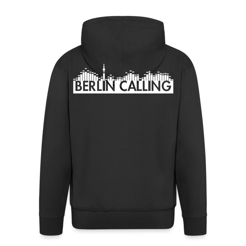 Männer Premium Kapuzenjacke - Official Product of the Berlin Calling Motive from Paul Kalkbrenner.