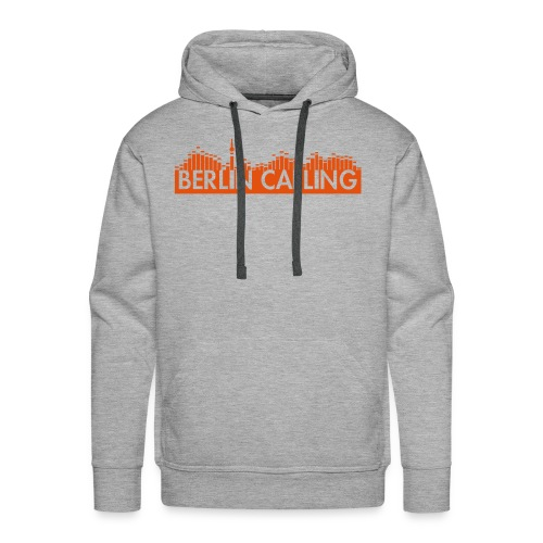 Männer Premium Hoodie - Official Product of the Berlin Calling Motive from Paul Kalkbrenner.