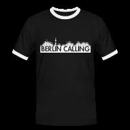 T-Shirts ~ Männer Kontrast-T-Shirt ~ Artikelnummer 26089396