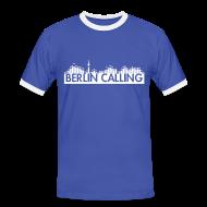 T-Shirts ~ Männer Kontrast-T-Shirt ~ Artikelnummer 26089398
