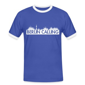 Männer Kontrast-T-Shirt - Official Product of the Berlin Calling Motive from Paul Kalkbrenner.