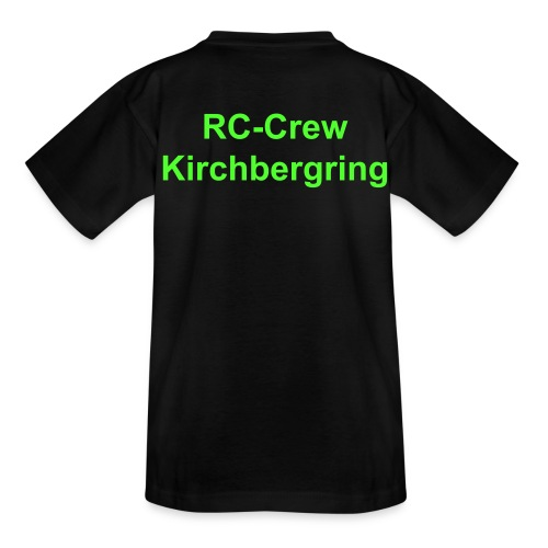 RC Crew Kirchbergring Teenager T-Shirt klassisch - Teenager T-Shirt