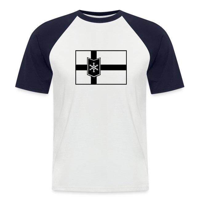 WinterBoarderLand flagball shirt