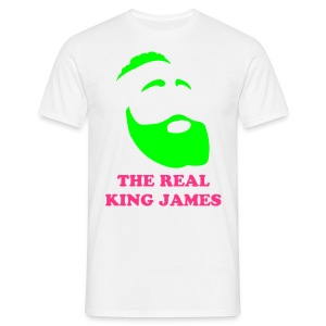 The Real King James - Maglietta da uomo