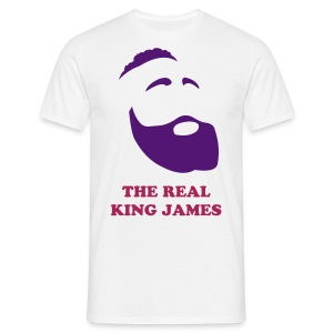 The real King James - white - Maglietta da uomo