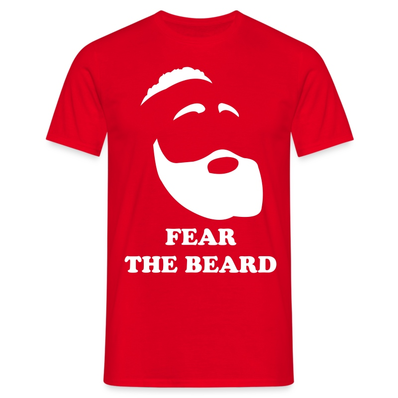 Fear the Beard - Maglietta da uomo