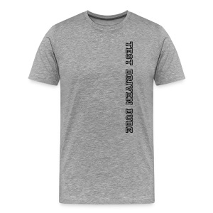 Test Driven Dude - Männer Premium T-Shirt