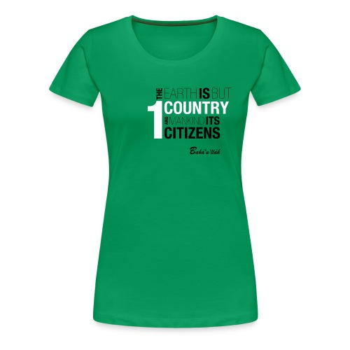 ONE COUNTRY - Slim Fit /w - Women's Premium T-Shirt