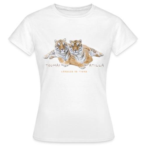 T-Shirt Femme Toumaï et Atilla - T-shirt Femme