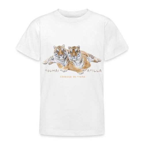 T-Shirt Ado Toumaï et Atilla - T-shirt Ado