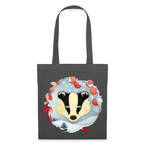 Badger Winter Wonderland - Tote Bag