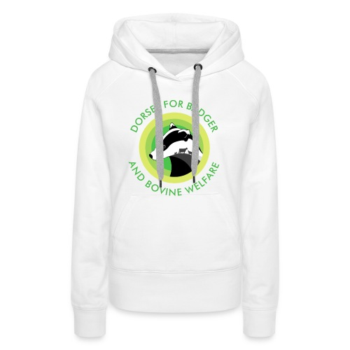 Dorset for Bagder and Bovine Welfare (Logo) - Women's Premium Hoodie