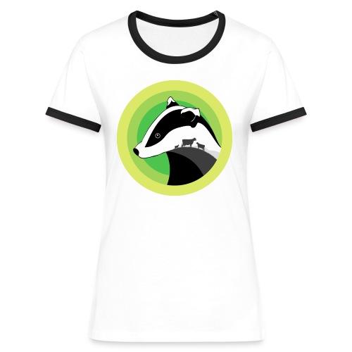 Dorset for Bagder and Bovine Welfare - Women's Ringer T-Shirt