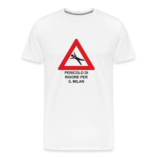 Pericolo di rigore per il Milan - Maglietta Premium da uomo