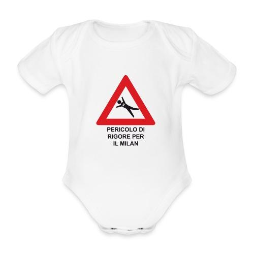 Pericolo di rigore per il Milan - Body ecologico per neonato a manica corta