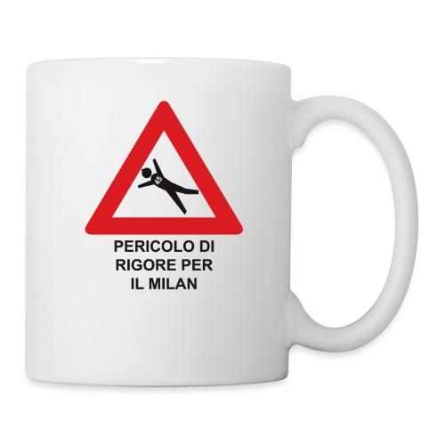 Pericolo di rigore per il Milan - Tazza