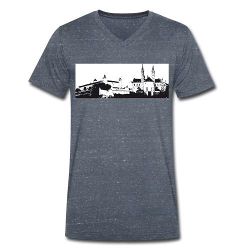 Wü Shirt# - Männer Bio-T-Shirt mit V-Ausschnitt von Stanley & Stella