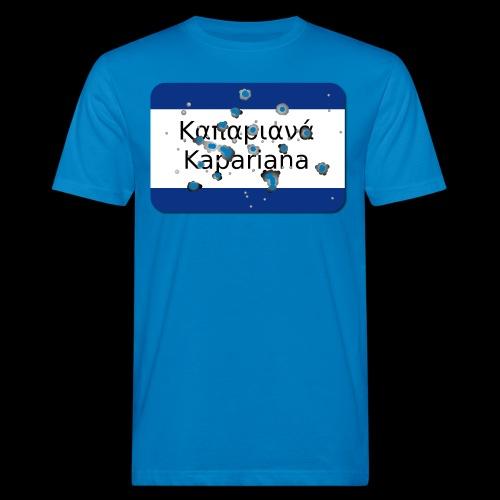 Kapariana Agapao - Männer Bio-T-Shirt