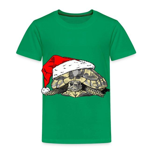 Christmas Tortoise Kids's Tee