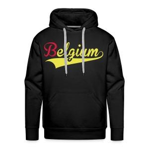 SWEAT HOMME BELGIUM - Sweat-shirt à capuche Premium pour hommes