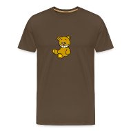 T-Shirts ~ Männer Premium T-Shirt ~ Ulkbär sitzt