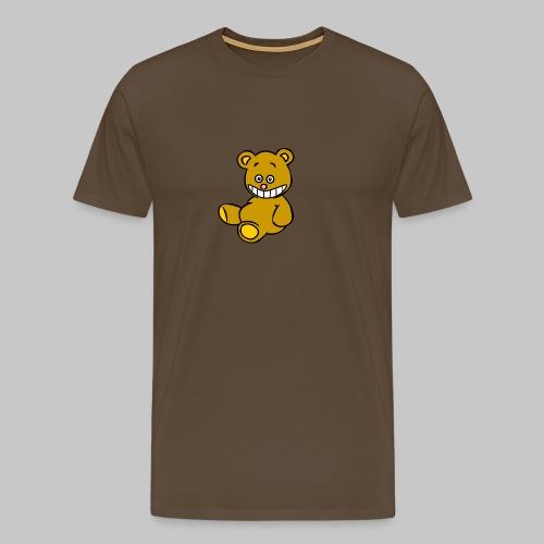 Ulkbär sitzt - Männer Premium T-Shirt