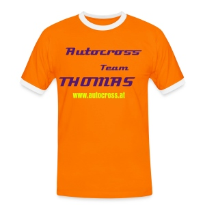 Männer Kontrast-T-Shirt - Autocross Team Thomas,Honda,VW