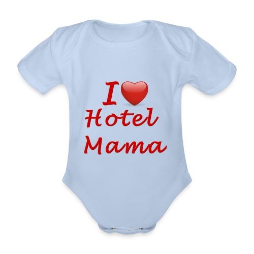 Rompertje ILHM korte mouw - Baby bio-rompertje met korte mouwen