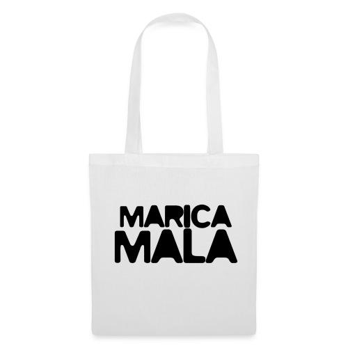 Marica Mala - Logo Negro - Bolsa de tela