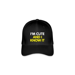 I'm Cute and I Know it - Flexfit Baseball Cap
