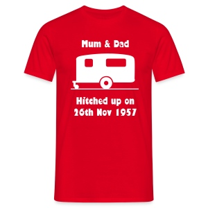 Hitched up - can be personalised  - Men's T-Shirt