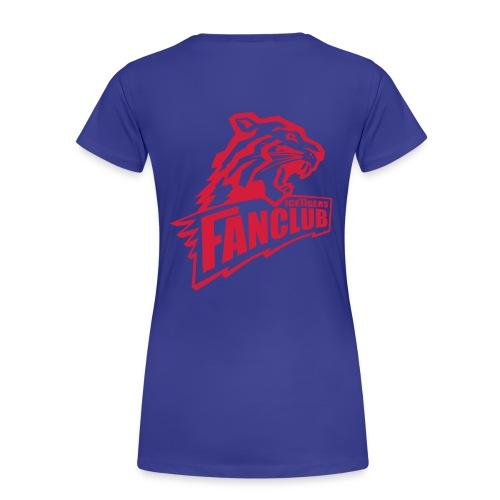 Frauen Shirt hinten groß - Frauen Premium T-Shirt