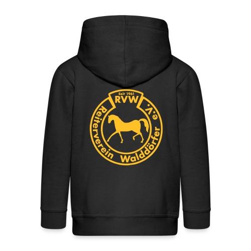 RVW Kapuzenjacke (2 Logos) - Kinder - Kinder Premium Kapuzenjacke