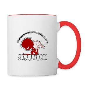 Japyh.com -kahvikuppi - Kaksivärinen muki