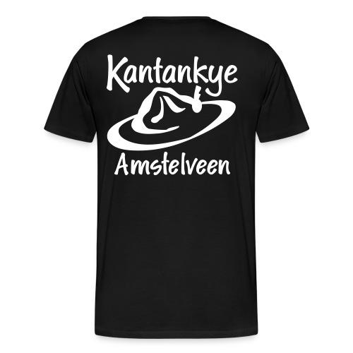 Basic Wit - Mannen Premium T-shirt