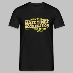 T-shirt Homme (man) The Force - Men's T-Shirt