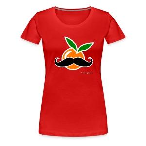 La Taronja Hipster - Xiques - Camiseta premium mujer