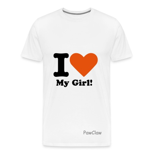 love my girl - Mannen Premium T-shirt