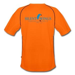 SilentWings Sportshirt orange - Männer Fußball-Trikot